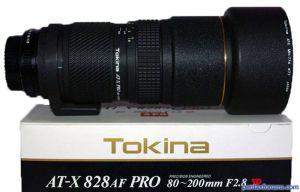 Tokina AT-X 828AF PRO 80-200mm F2.8