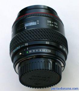 Tokina AF 28-70mm f2.8-4.5 Macro