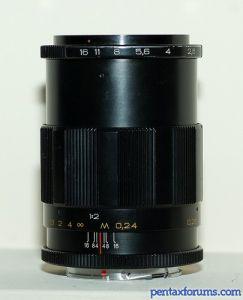 Volna-9 50mm, f2.8, M42 lens