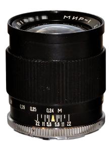 Mir-1 (Mir-1A, Mir-1B, Mir 1V) 37mm F2.8