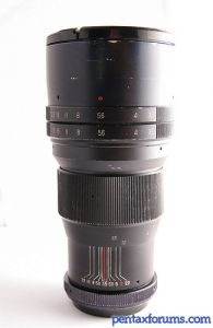 Vivitar t-mount 200mm f3.5 18 blade