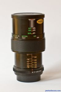 Vivitar (komine) 55mm f2.8 (f3 - early version); 1:1 macro