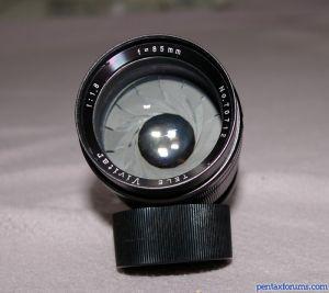 Vivitar 85mm F/1.8 Pre-set T-mount