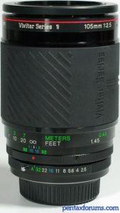Vivitar Series 1 (Kiron - 22xxxxx) 105mm f2.5 (100mm f2.8) Macro