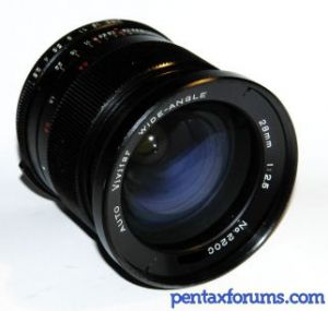 Vivitar (Kiron 22xxxxx) 28mm F2 5 Lens Reviews - Vivitar Lenses