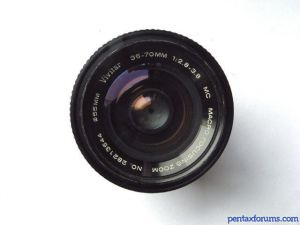 Vivitar 35-70mm F2.8-3.8 Macro Focusing Zoom