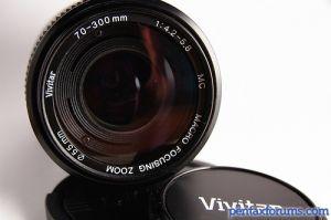 Vivitar ( Cosina ) 70-300mm 1:4.2-5.8 MC Macro Focusing Zoom