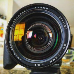 Vivitar 35-105mm f/3.5 auto zoom