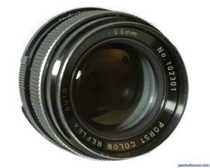 Porst 55mm f1.4 Color Reflex Auto