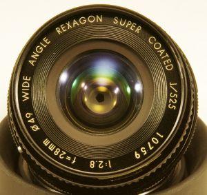 Rexagon 28mm f2.8 Wide Angle Super Coated