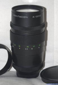 Pentacon 200mm F4 Preset