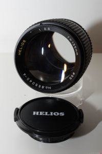 "Helios 135mm f/2.8 (""Lens Made in Japan"")"