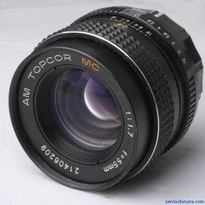 Topcor / Topcon 55mm f/1.7