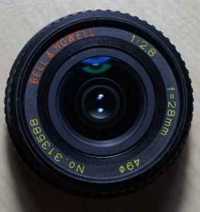 Bell & Howell 28mm, f2.8