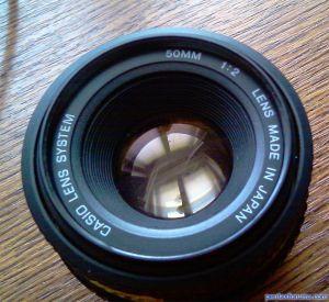 Casio 50 mm F2.0