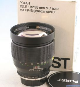 Porst, Spiratone, Apollo ...et al  (Mitake) 135mm f1.8 Tele MC