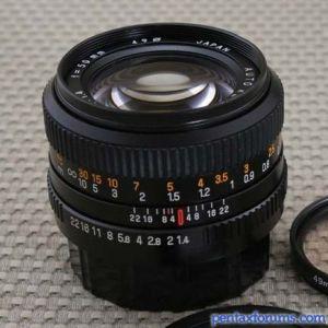 Revuenon 50mm f1.4 MC