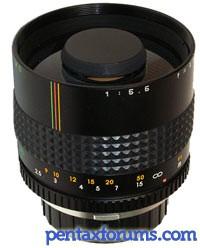 Makinon 300mm f5.6 Mirror Lens