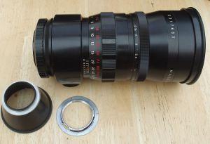 Meyer-Optik Gorlitz Orestegor / Pentacon 300mm f4