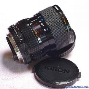 Kiron 28-70mm F3 5-4 5 Macro 1:4 Lens Reviews - Miscellaneous Lenses