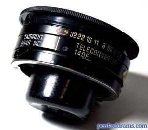 Tamron  Adaptall 140F 1.4X TC