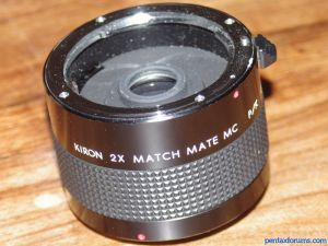 Kiron Matchmate MC 2x Lens Reviews - Miscellaneous Lenses - Pentax