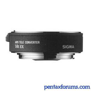 SIGMA APO 1.4x EX Teleconverter