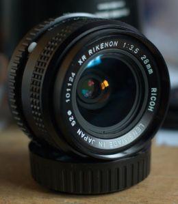 Ricoh XR Rikenon 28mm F3.5