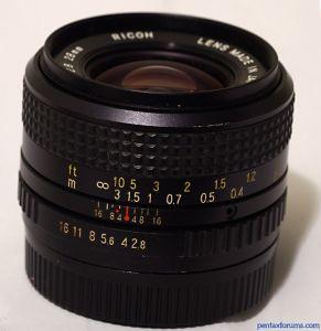 Ricoh 28mm F2.8 Rikenon XR