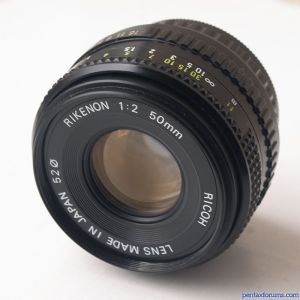 Ricoh Rikenon 50mm f/2