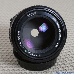 Ricoh 50mm Rikenon P f/1.4