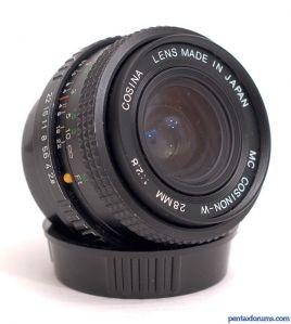 Cosina MC Cosinon-W 28mm F2.8