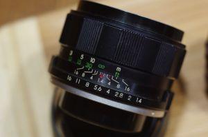 Cosina Cosinon 55mm f1.4 (M42)