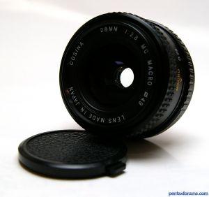 Cosina 28mm f/2.8 MC MACRO