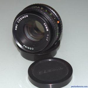 Cosina / Petri 50mm F1.7 NMC Cosinon