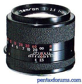 Tamron Adaptall 105mm f/2.5 (CT-105)