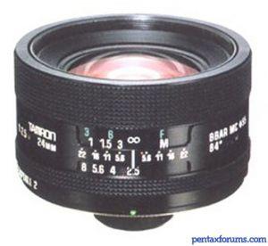 Tamron Adaptall-2 24mm f/2.5 (01B)