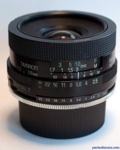 Tamron Adaptall 2 28mm F:2.5