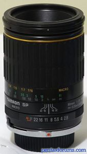 Tamron SP MF 90mm F2.8 MACRO 1:1 (72B)
