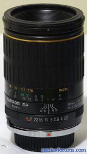 Tamron SP MF 90mm F2.8 MACRO 1:1 (72B)